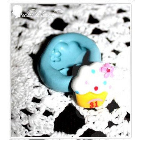 Moules en silicone cupcake 15 mm