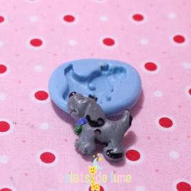 Moule en silicone bouton chien 23/20mm