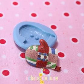 Moule en silicone bouton manique 25/19mm