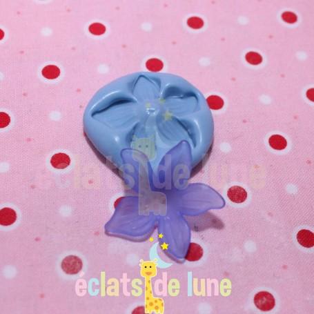 Moule en silicone fleur 28 mm