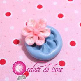 Moule en silicone fleurs 21 mm