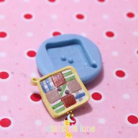 Moule en silicone bouton manique 20mm