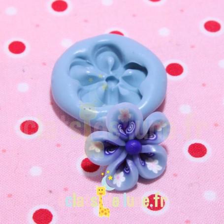 Moule en silicone fleurs 22 mm