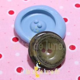 Moule en silicone bouton rond 26mm