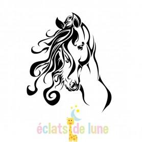 Tampon base ergonomique cheval taille 40/35 cm