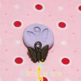 Moule en silicone breloque papillon 12mm