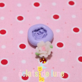 Moule en silicone mini rose 14 mm