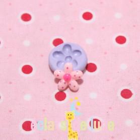 Moule en silicone mini fleur 12 mm