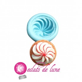 Moule en silicone biscuit chantilly 25 mm