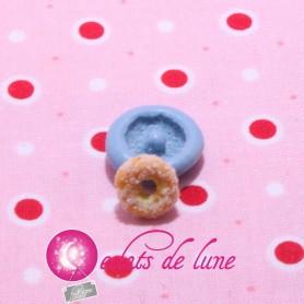 Moule en silicone mini donuts 10 mm