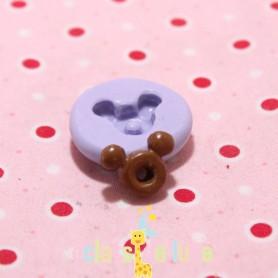 Moule en silicone mini donuts souris 15 mm