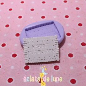 Moule en silicone petit beurre 20/30 mm