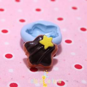 Moule en silicone gâteau étoile 22 mm