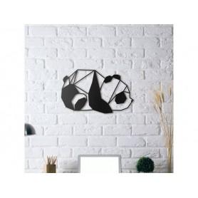 Panda dessiné en origami