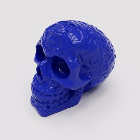 Crâne stylisé décoratif