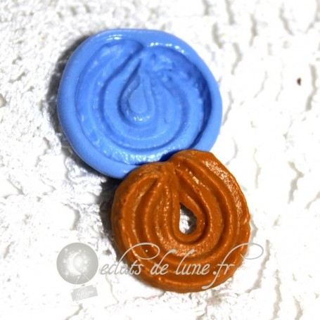 Moule en silicone biscuit sprits 21mm