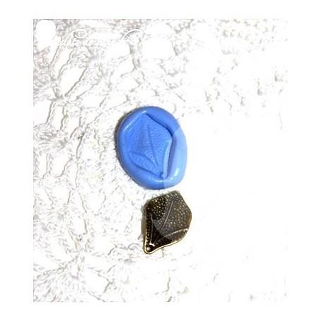 Moule en silicone breloque feuille 20/15mm