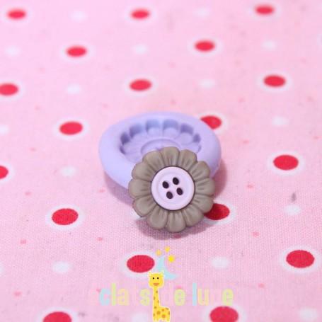 Moule en silicone bouton fleur 15mm