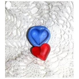 Moule en silicone bonbon coeur 22 mm